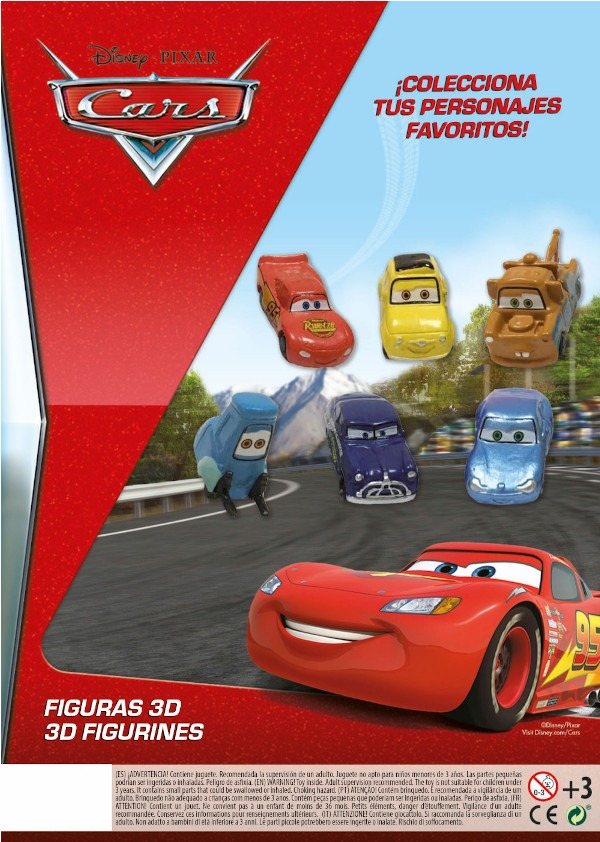 Colectia Cars 12 piese