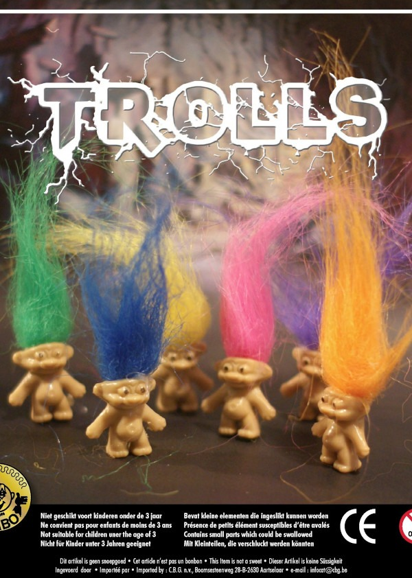 Figurine Trolls