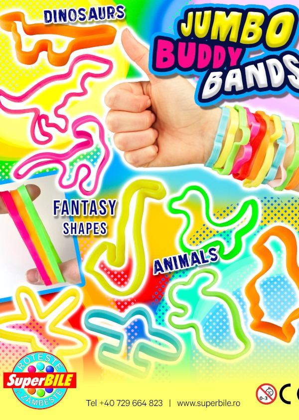Jumbo Buddy Bands
